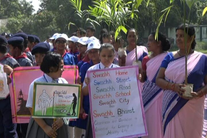 Christ Church Diocesan School-Swachh Bharath