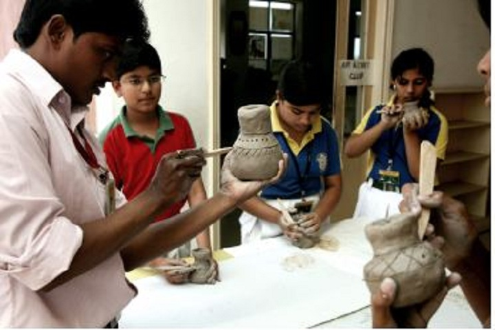 Delhi Public School-Pottery Workshop