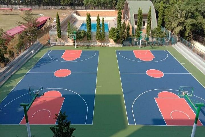 Delhi Public School-Basket Ball Court