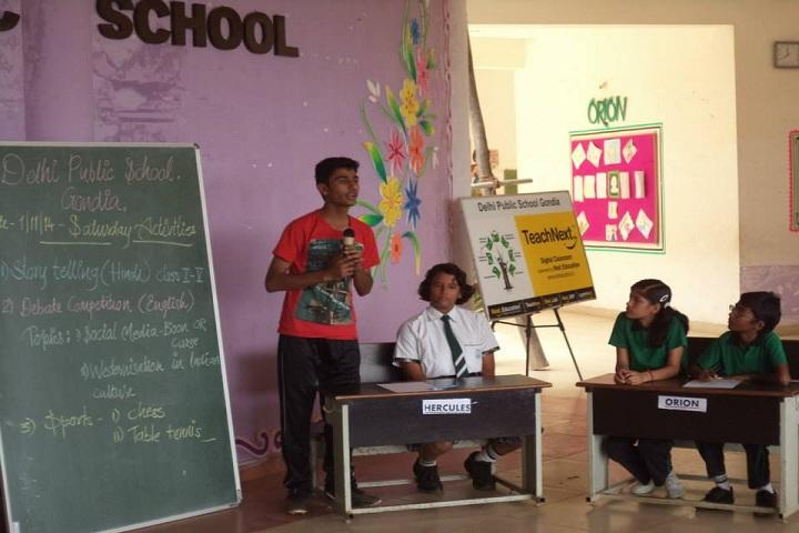 Delhi Public School-Debate Competition