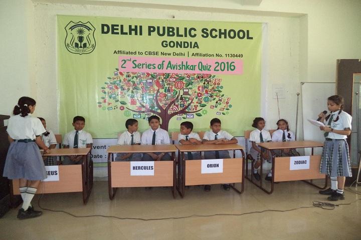 Delhi Public School-Quiz Competition