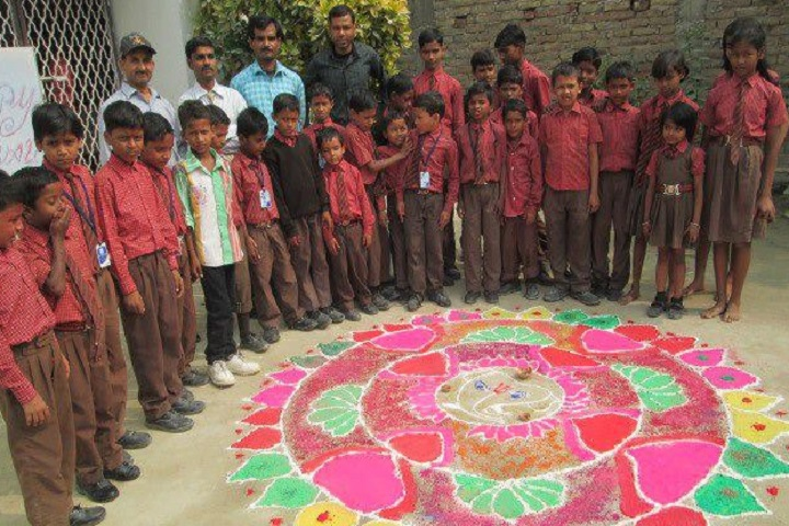 City Central High School-Rangoli Competition