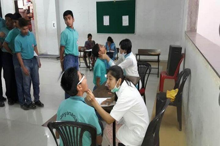 Dnyanada English School-Medical Checkup
