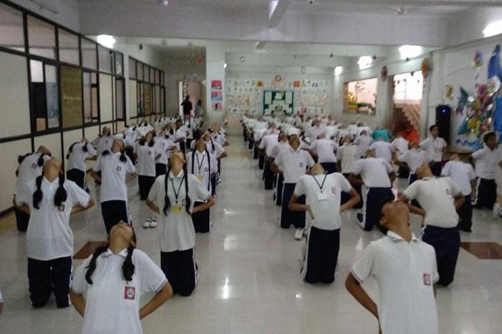 Dnyanada English School-Yoga