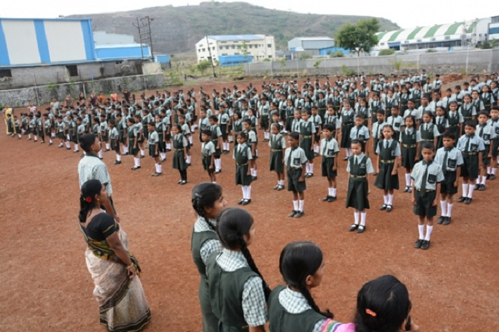Dnyanvardhini English Medium School-Assembly