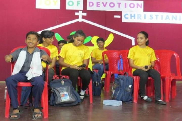 Don Bosco Senior Secondary School-Fun Activity