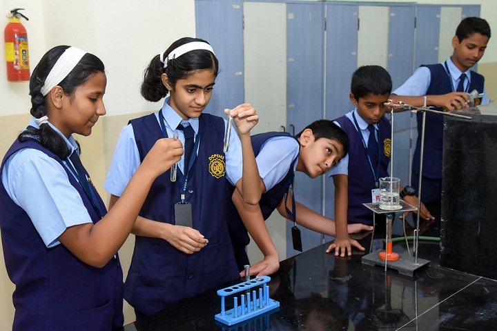 Dr Cyrus Poonawalla English Medium School-Laboratory1