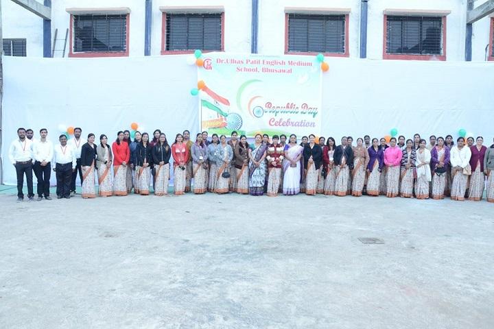 Dr Ulhas Patil English Medium School-Republic Day Celebrations