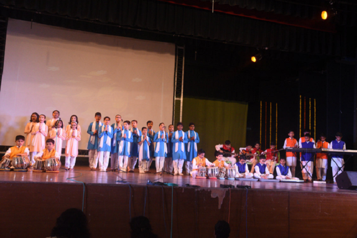 Drb Dav Public School-Singing