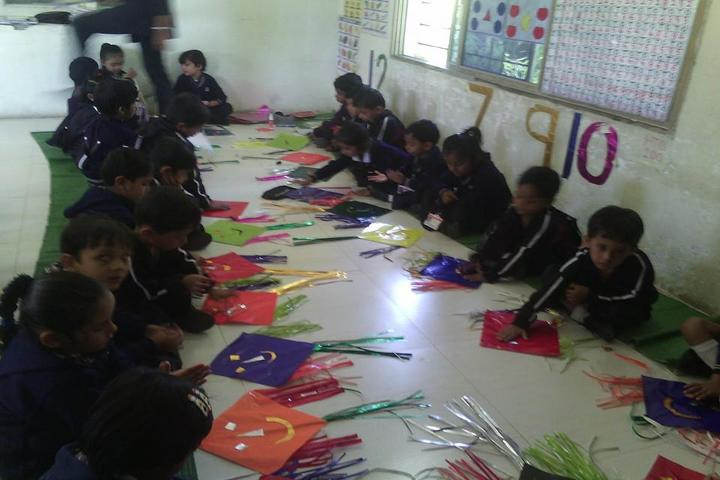 Edify School-Kite Making Activity