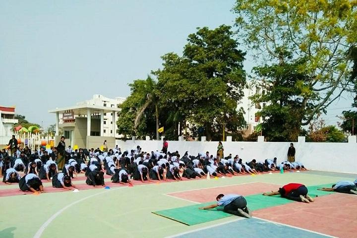 Emerald Heights School-Yoga activity