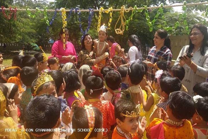Eon Gyanankur English School-Janmashtmi Celebrations