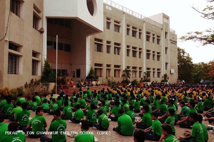 Eon Gyanankur English School-Yoga Day Celebrations