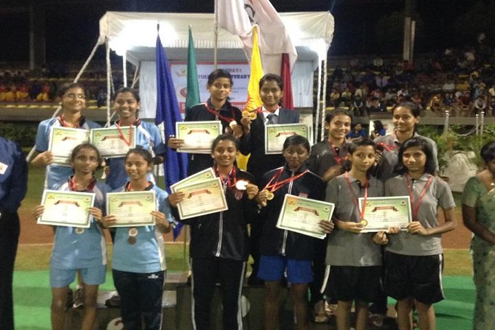 Fr Agnel School-Sports Champions