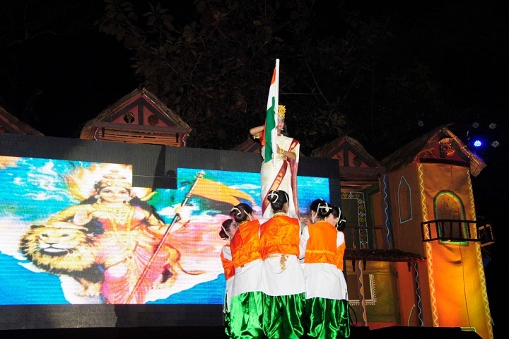 GH Raisoni Vidya Niketan-Independence Day