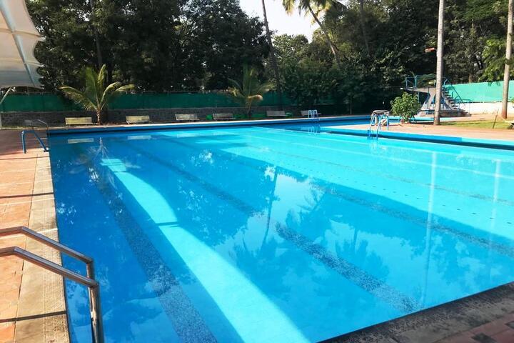Loyola High School and Junior College-Swimming Pool