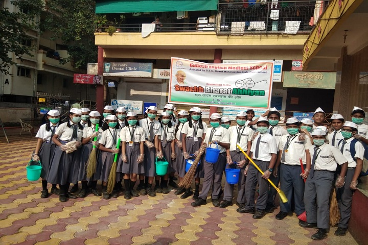 Ganesh International School-Swachh Bharat Program