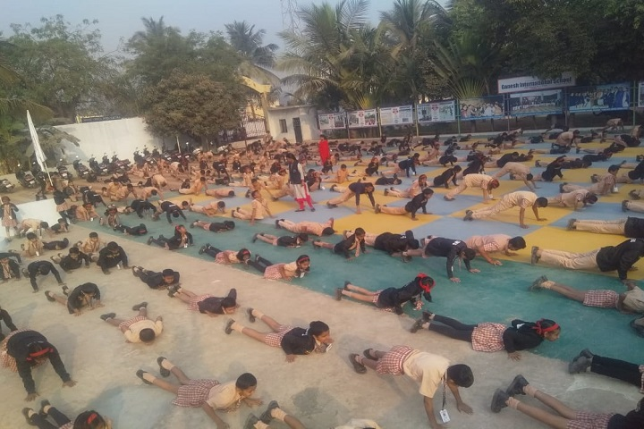 Ganesh International School-Yoga Activity