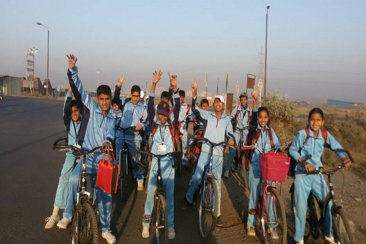 Gayatri English Medium School-Cycle Rally