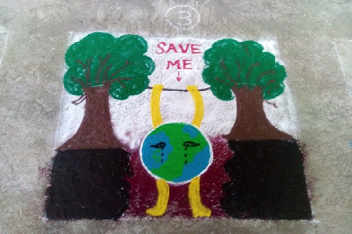 Gayatri English Medium School-Environmental Day Celebrations