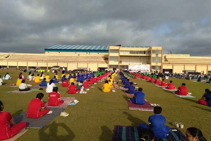 Gems English Medium School-Yoga Day