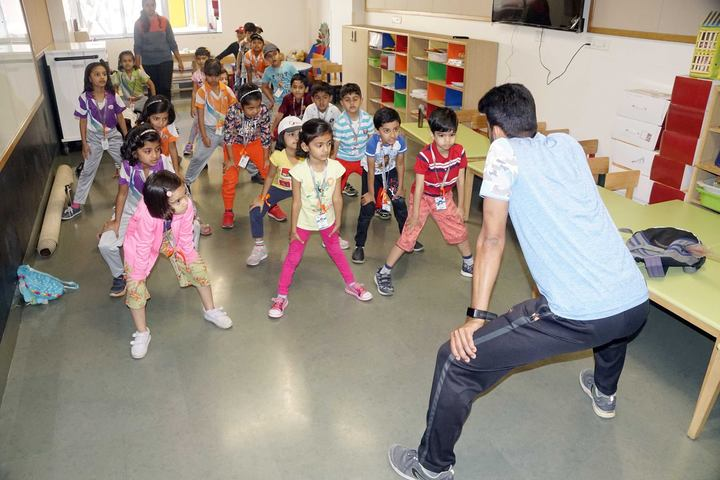 Global Indian International School-Dance Room