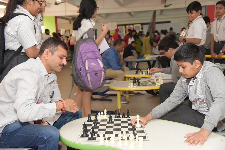 Global Indian International School-Indoor Games