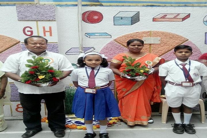 Glory English Medium School-Felicitation