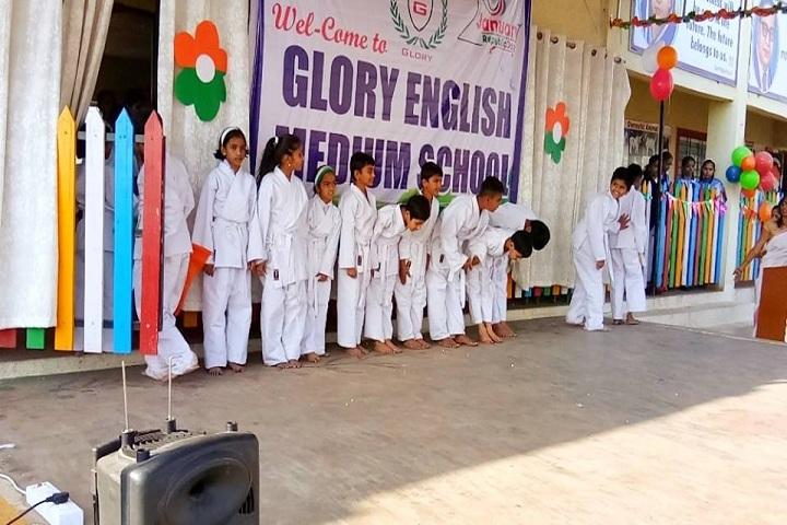 Glory English Medium School-Taekwondo