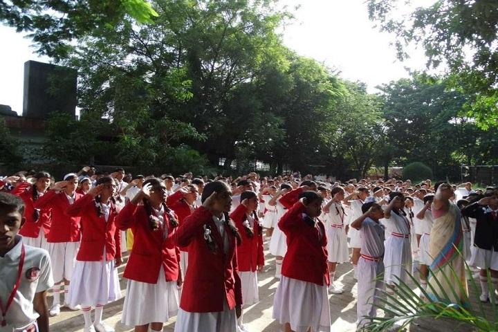 Godavari Foundations Godavari English Medium School-Assembly