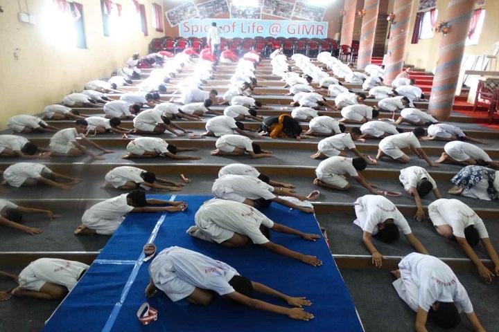 Godavari Foundations Godavari English Medium School-Yoga