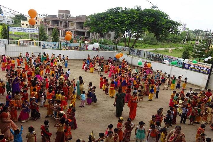 Golden Days Universal School-janamashtami celebrations