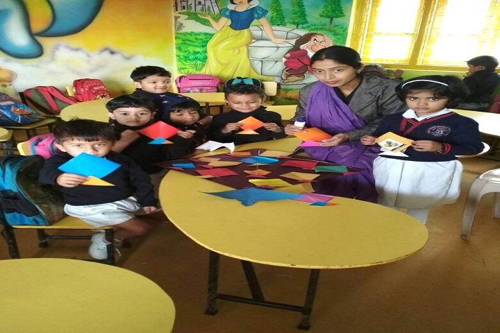 Gondia Public School-Classroom Activity