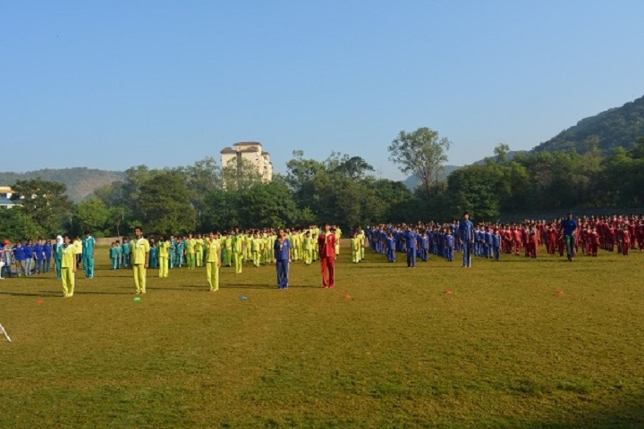 Greenfingers Global School-Sports Day
