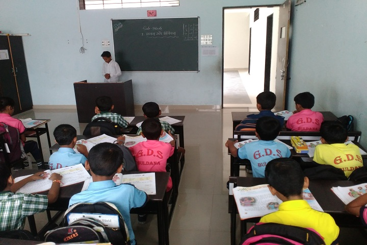 Gurukul Dnyanpeeth School-Classroom