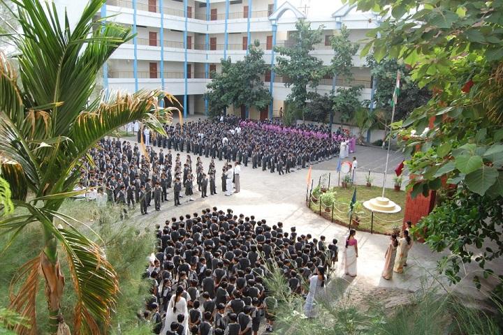 Gurukul English School-assembly