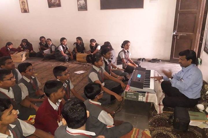 Gurukul English School-music room
