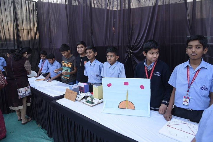 Gurukul Olympiad School-exhibition