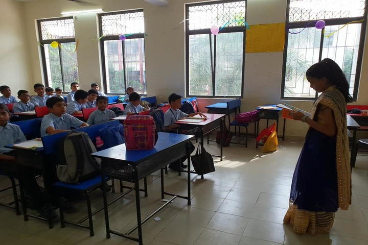 Hadas English Medium School-Classroom