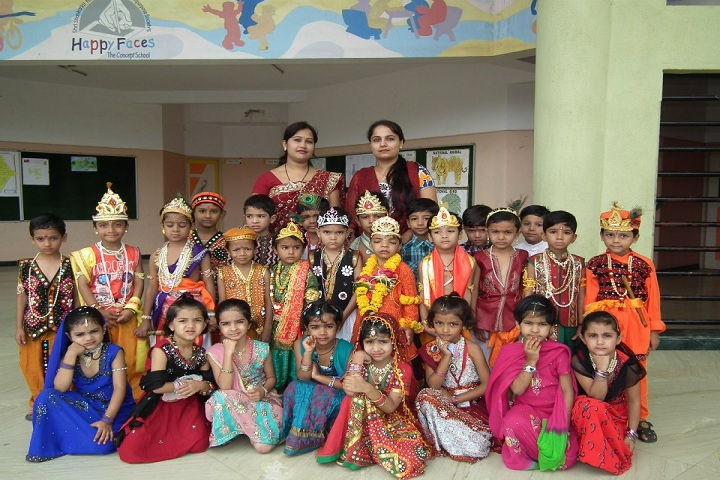 Happy Faces The Concept School-Festive Celebrations