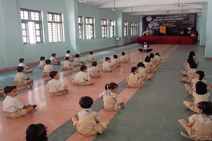HOCL School-Yoga Class
