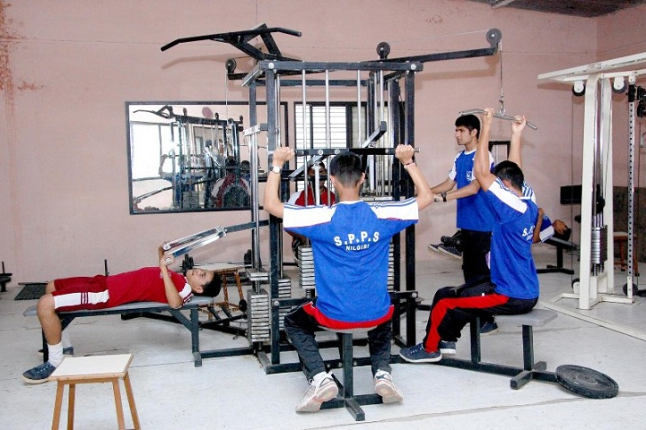 Sharad Pawar International School-Gym