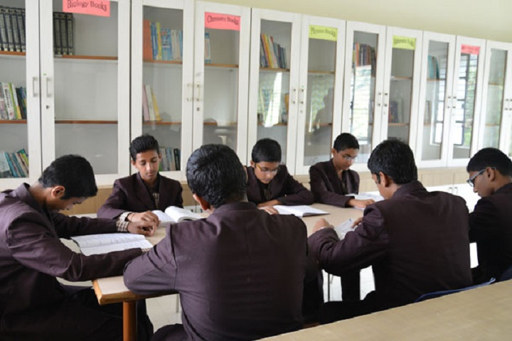 Sharad Pawar International School-Senior Library