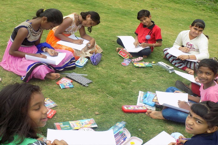 Annasaheb Dange International School-Drawing Competition