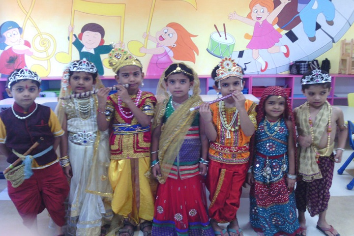 Annasaheb Dange International School-Gokulashtami