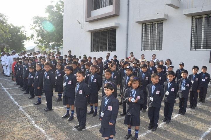 Hon Ratnakarrao Gutte International School-Assembly