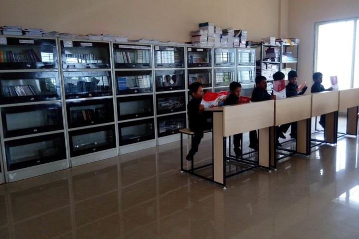 Hon Ratnakarrao Gutte International School-Library