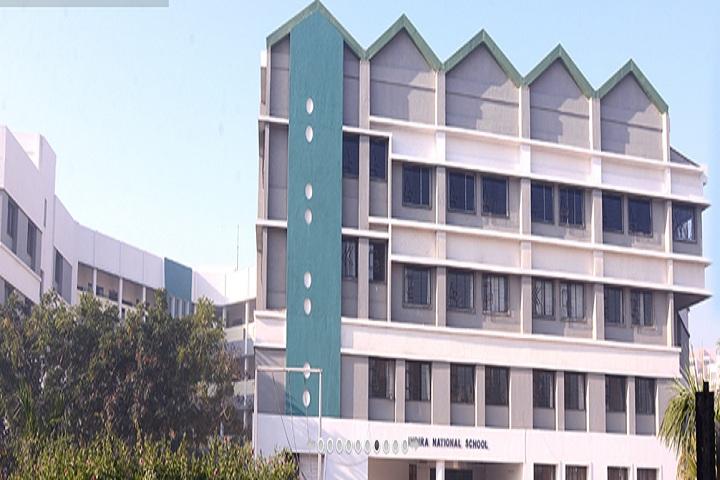 Indira National School-campus