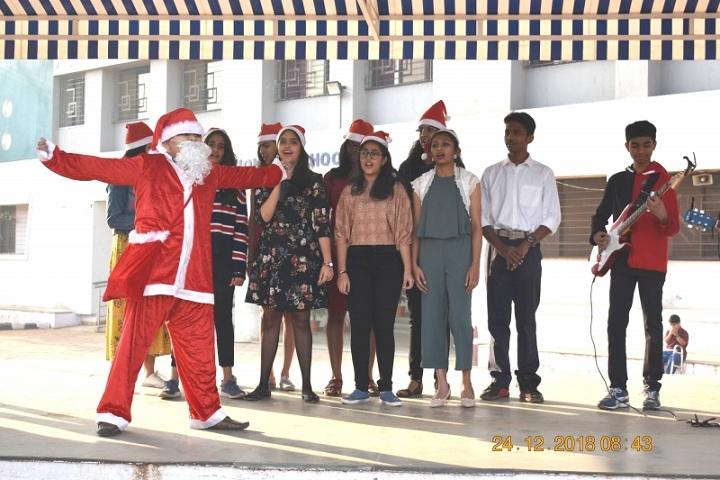 Indira National School-Chirstmas Celebrations