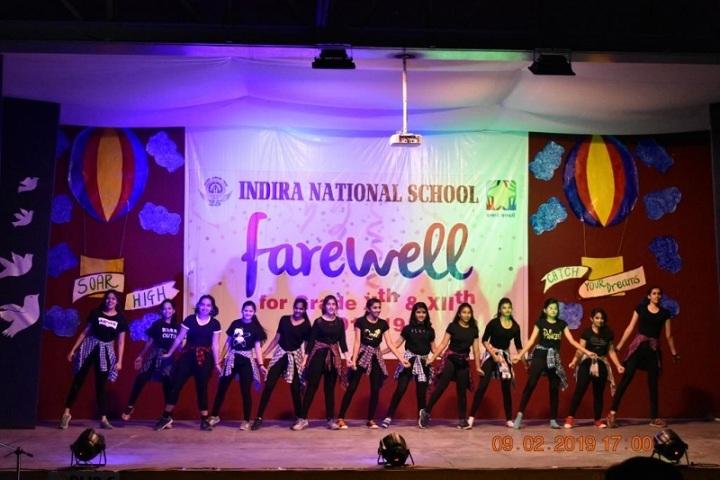 Indira National School-Farewell